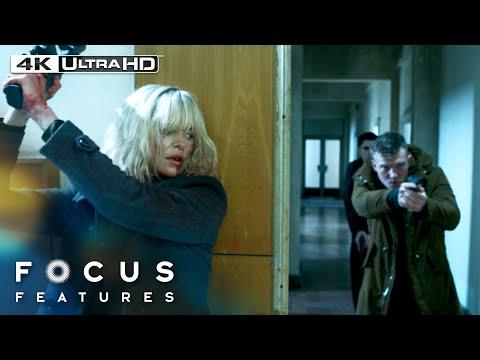 Atomic Blonde | The 10-Minute Single Take Fight Scene in 4K HDR