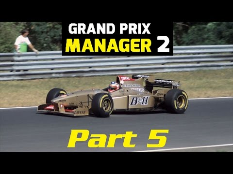 Grand Prix Manager 2: Jordan Career Mode - Part 5 - 'Six Changes In Weather?!'