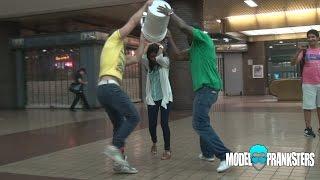 Epic Ice Bucket Challenge On Strangers Prank!
