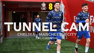 Behind The Scenes At Wembley Stadium As Chelsea Advance To Emirates FA Cup Final | Tunnel Cam | EE