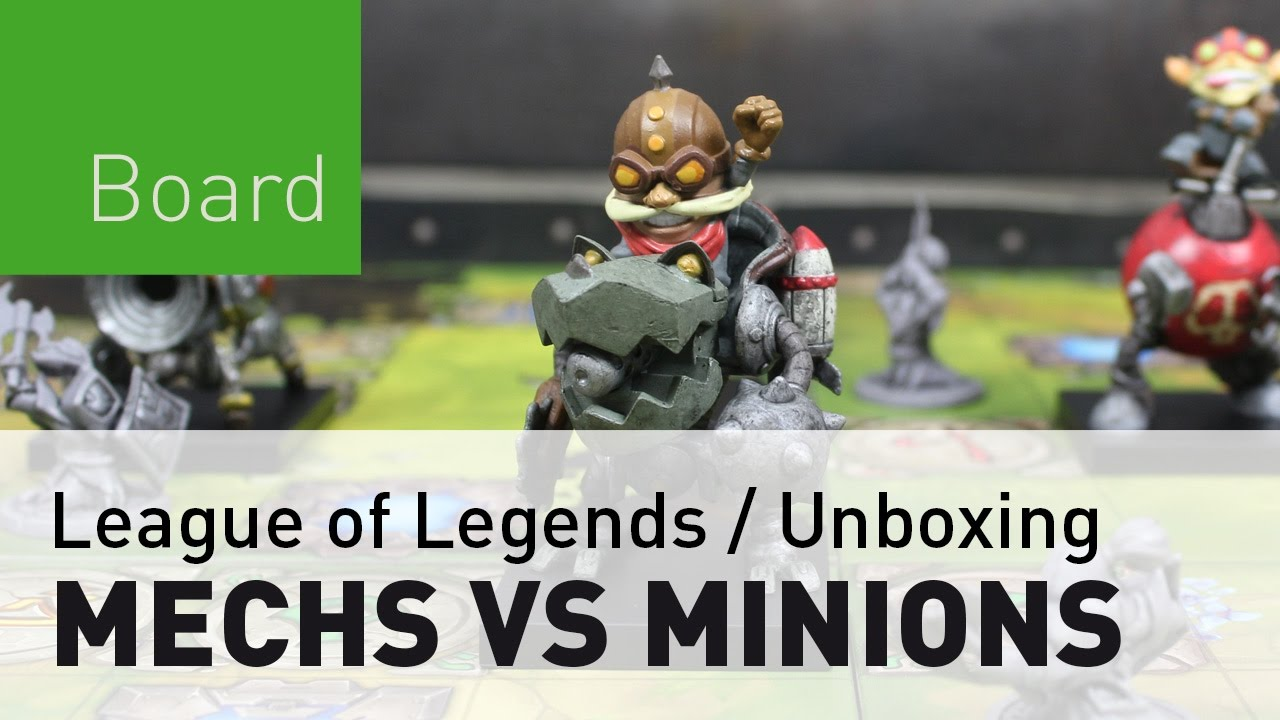 Mechs Vs Minions El Juego De Mesa De League Of Legends Unboxing