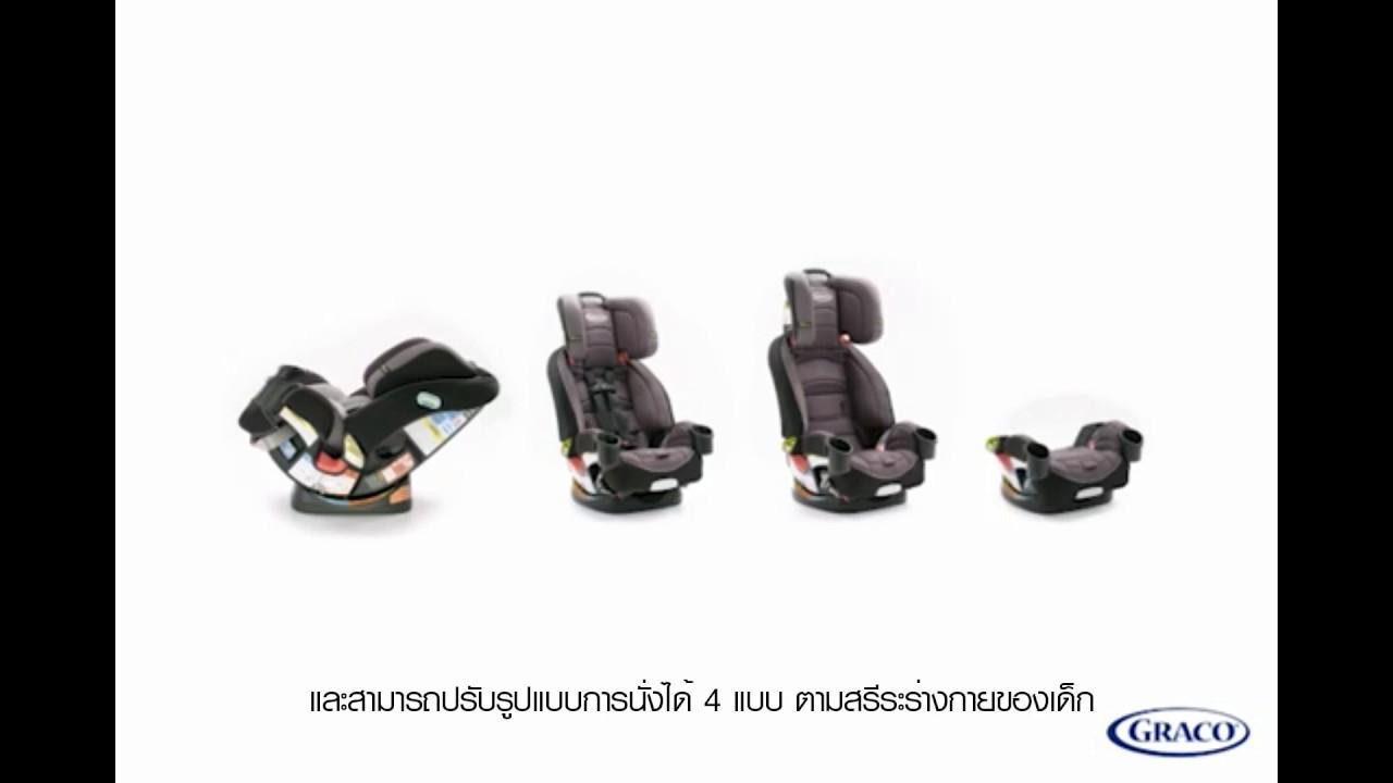 คาร์ซีท Graco 4Ever 4-in-1 Car Seat featuring Safety
