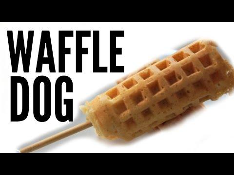 WAFFLE HOT DOG Recipe - Weenies