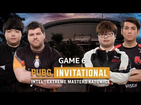IEM PUBG Invitational Katowice 2018 Game 6