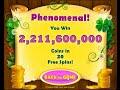Coins Clovers MEGA WIN 2.211.600.000 coins