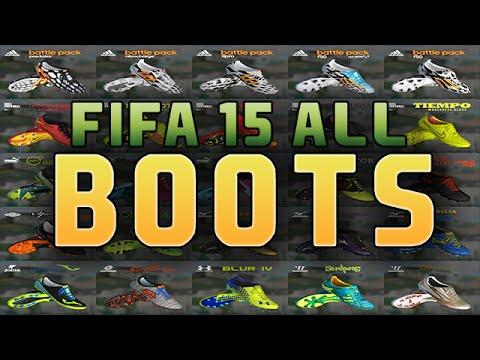 fifa-15-|-all-boots-/-alle-schuhe-|-feat.-cristiano-ronaldo-|-full-hd