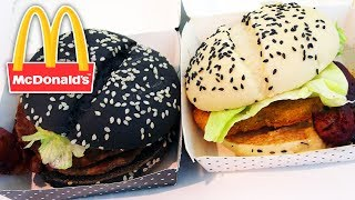 10 Black Bun Fast Food Burgers You Never Knew Existed