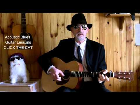 Acoustic Blues Guitar - Diddie Wah Diddie - Blind Blake Cover