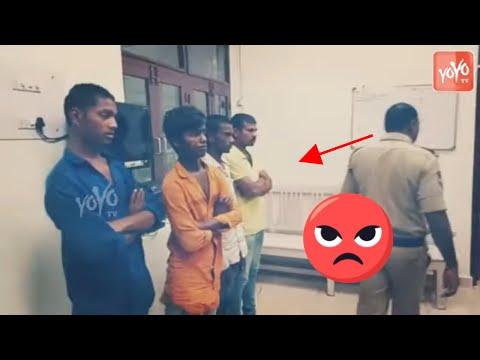 Disha Incident Exclusive Visuals Of Accused   Telangana News   Hyderabad   Doctor Disha   YOYOTVNEWS