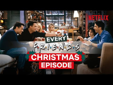 EVERY Christmas Episode From Friends