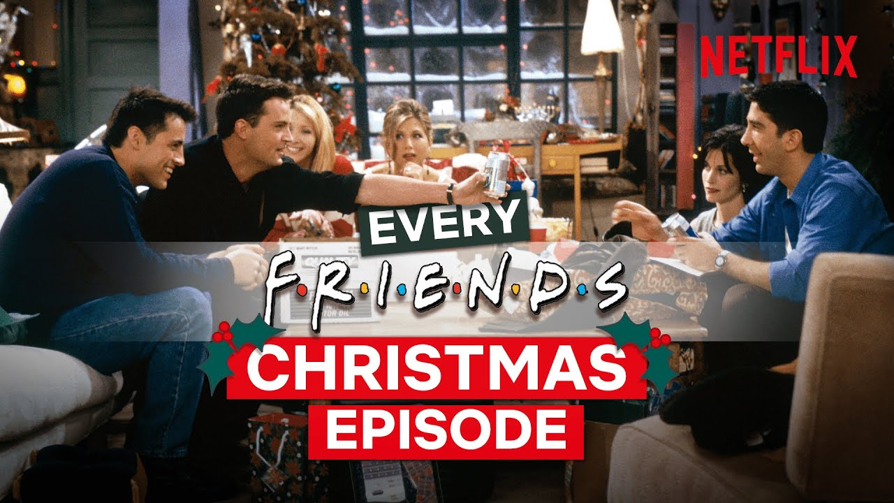 Download EVERY Christmas Episode From Friends