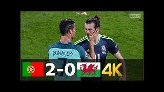 португалия - Уэльс 2-0 - Обзор Матча - Полуфинал Чемпионата Европы 06/07/2016 HD