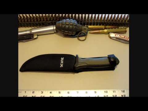 Buck Nighthawk outdoor camping knife - YouTube