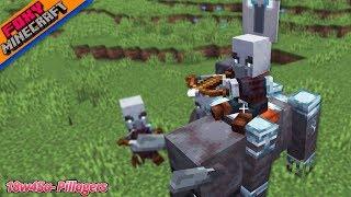 Minecraft 1.14 Pre-Release Snapshot 18w45a - Pillager Patrols