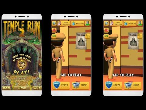 little Singham vs temple run 2 game play 2018 || little Singham new official game trailer||