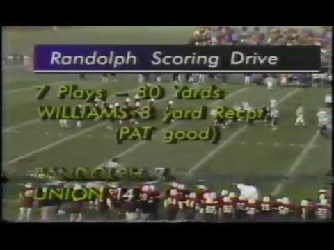 Pt.3)1992 NJ Group4 State Championship Game Randolph VS Union