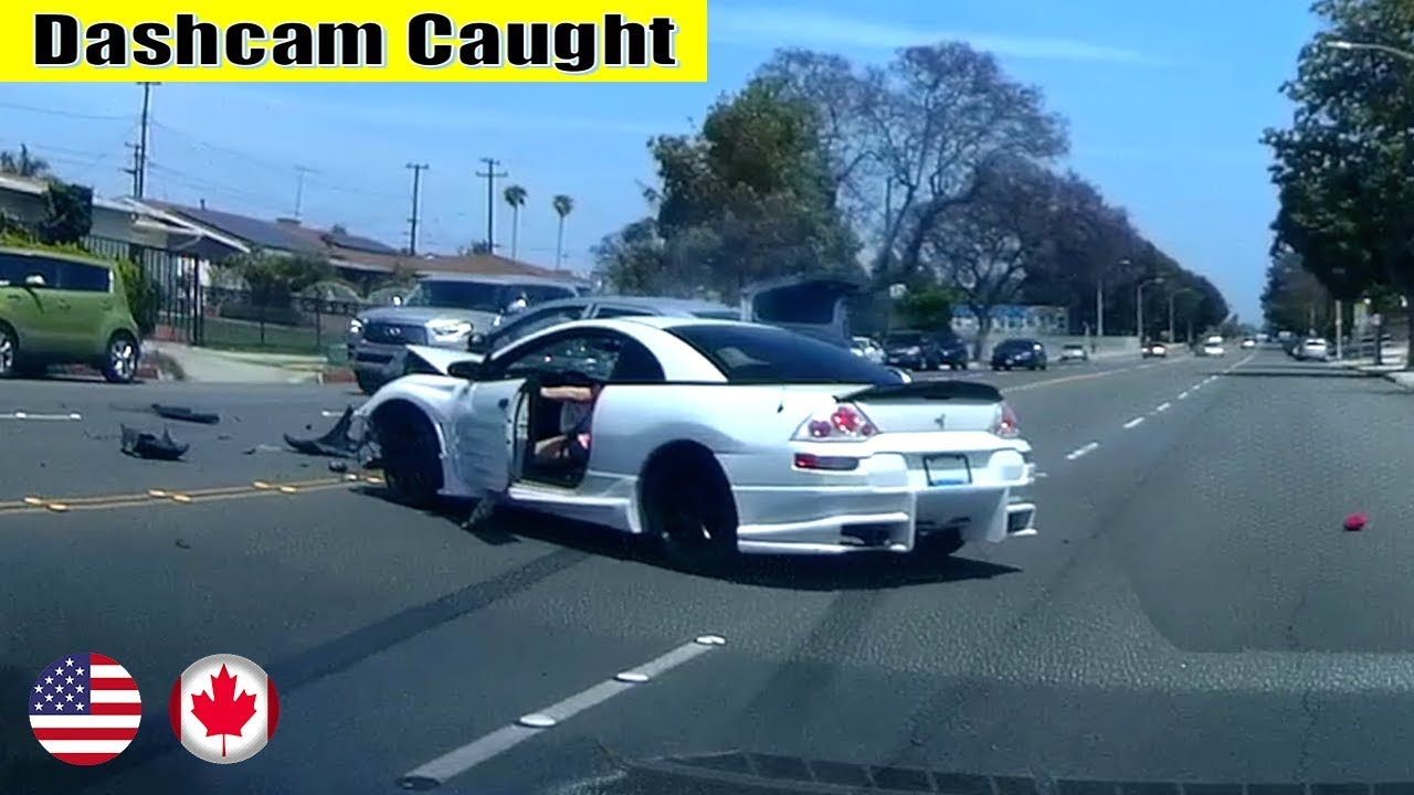 Ultimate North American Cars Driving Fails Compilation - 142 [Dash Cam Caught Video]