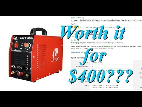 ✓ Lotos LTP5000D Review & Intro to Plasma Cutting