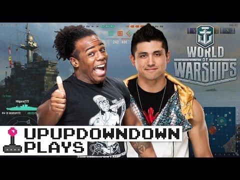 World of Warships: TJ Perkins & Austin Creed redefine naval warfare! — UpUpDownDown Plays