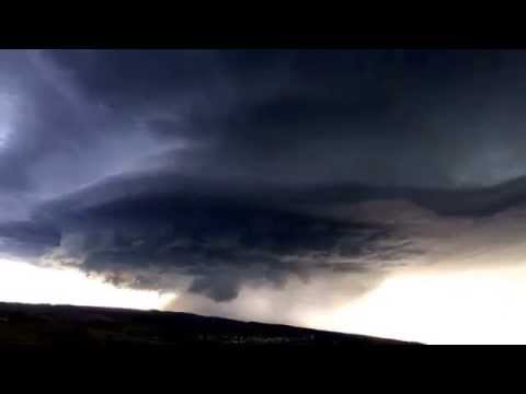 Stunning Time-laps of Supercell over Black Hawk, South Dakota