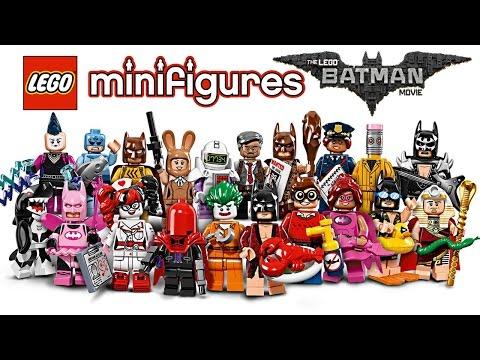 LEGO Minifigures Batman Movie Series pictures!