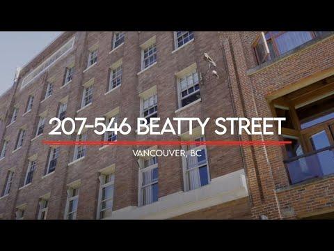 207-546 Beatty Street Vancouver, BC   Brandan Price PREC*