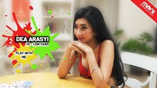 [HOT GAMES] KALAH BUKA BAJU!! MOOI VS DEA ARASYI DUEL HI-LOW CARD!!