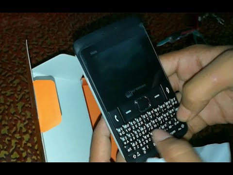 Micromax X606 Black Unboxing And Details | HINDI/URDU