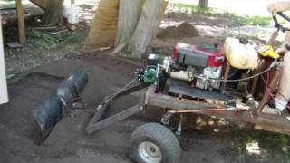 homemade mini dump trucks first work out