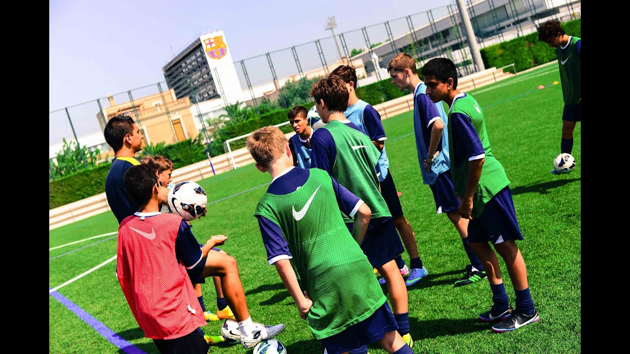 The Official Fc Barcelona Soccer Camps Video Youtube