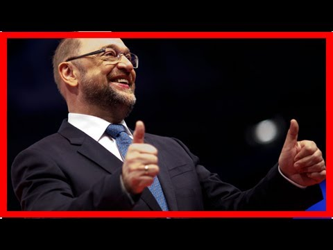 Join the united states of europe or leave the eu, says martin schulz
