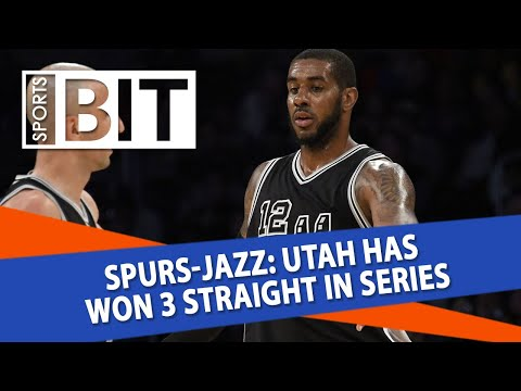 San Antonio Spurs at Utah Jazz | Sports BIT | NBA Picks