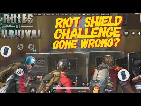 RIOT SHIELD ONLY