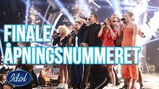 Idolfinalen 2018, åpningsnummeret (Finesse - Bruno Mars)  | Idol Norge 2018