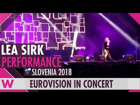"Lea Sirk ""Hvala, ne!"" (Slovenia 2018) LIVE @ Eurovision in Concert 2018"