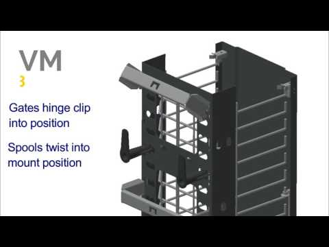 Hubbell Premise Wiring:  M Series Cable Management