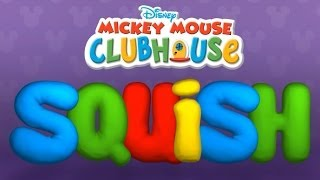 Mickey Mouse Clubhouse SQUISH - Fun Clay Game App for Kids