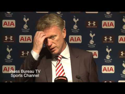 David Moyes reaction Tottenham vs Sunderland