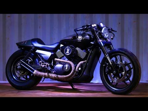 Rajputana Customs Designs Harley Street 750 Cafe Racer For IBW