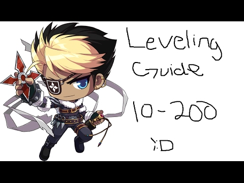 Maplestory leveling Guide 10-200