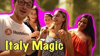 ITALY REACTS TO MAGIC (JULIUS DEIN VLOG)