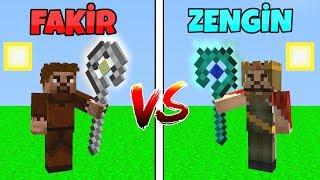 FAKİR SİHİRLİ SOPA VS ZENGİN SİHİRLİ SOPA! 😱 - Minecraft