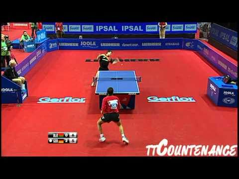 European Championships: Timo Boll-Evgueni Chtchetinine