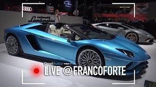 Lamborghini  Aventador S Roadster, 740 CV e 350 km/h senza tetto al Salone di Francoforte 2017