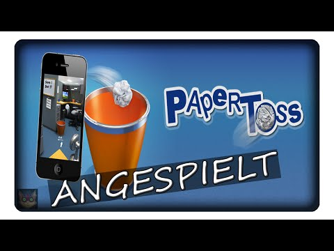 PAPER TOSS || Angespielt | Deutsch | German