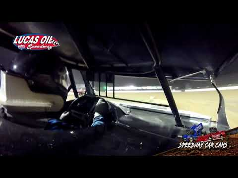 #66 Ryan Gilmore - USRA B Mod - 10-13-19 Lucas Oil Speedway - In-Car Camera