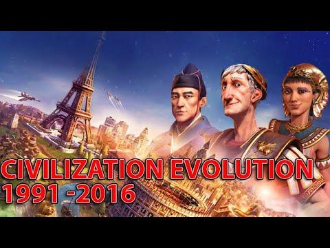 Evolution of Sid Meier's Civilization Games 1991-2016 |
