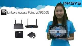 แนะนำคุณสมบัติและโหมดการทำงานของ LINKSYS WAP300N : Dual Band Wireless-N Access Point