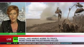 Israel, Hamas 12hr truce in effect as spiraling violence leaves 900+ dead