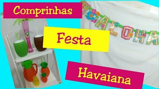 Preparativos Festa Havaiana Tropical  (part1).#universodanani